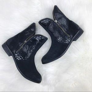 Catherine Malandrino Vesta Black Ankle Boots SZ 9